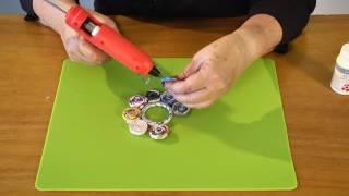 איך עושים תחתית עגולה מנייר עיתון