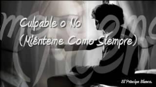 Culpable O No (Mienteme Como Siempre)   Luis Miguel (Lyrics)   Hg