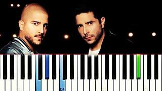 Cali y El Dandee - Ay Corazón | Piano Tutorial Cover