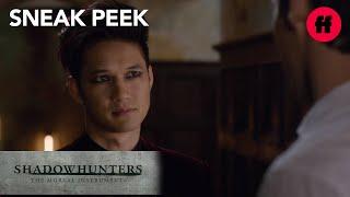 Shadowhunters | Season 1, Episode 13 Sneak Peek: Alec & Magnus | Freeform