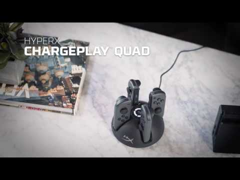 HyperX ChargePlay Quad HX ChargePlay Quad Product Video  EN 20 11 2018 21 26