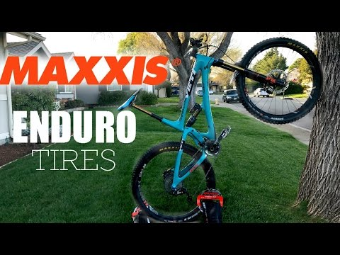 Maxxis Enduro Tire Line-Up Breakdown & Review