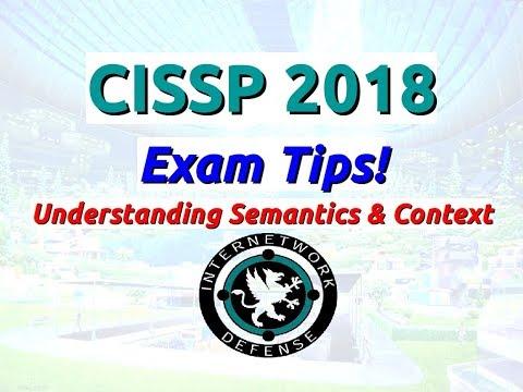 Larry Greenblatt - CISSP 2018 Exam Tips - YouTube