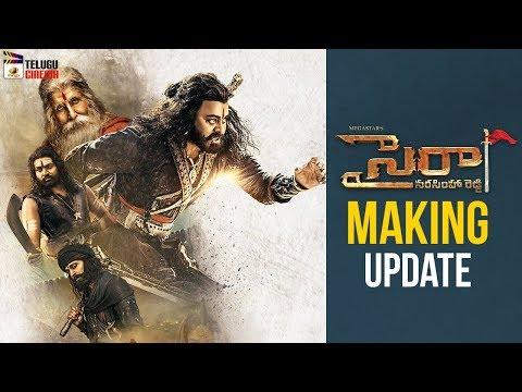 Sye Raa Narasimha Reddy Movie MAKING Release Update | Chiranjeevi | Ram Charan | Nayanthara
