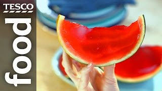 How to make watermelon jelly slices