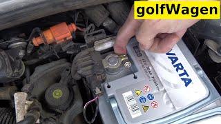 How to change AGM battery on Skoda Octavia 2 facelift /start-stop/