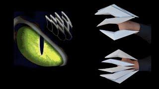 como fazer garras de papel origami 123vid