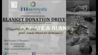 preview picture of video 'Blanket Donation Drive Maanviyata'
