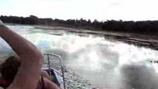 preview picture of video 'Airboat Ride #2, Belize'