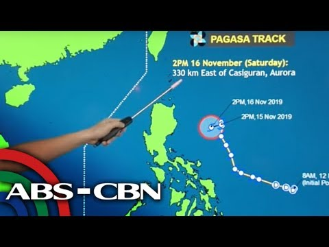 [ABS-CBN]  PAGASA gives updates on Tropical Storm Ramon