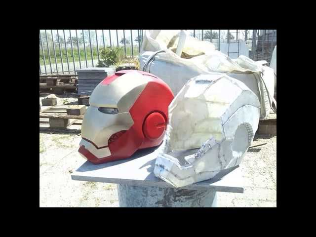 Iron Man Mk 3 Helmet