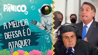 Se me atacar eu vou atacar: 'Bolsonaro gordão' fala sobre treta com jornalista