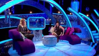Zoe Ball Strictly It Takes Two Leather Pencil Skirt And 6 Inch Heels 13/11/2012   HD 1080p
