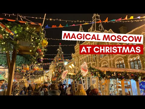Magical Moscow on Christmas Eve