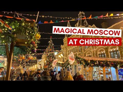 Magical Moscow on Christmas Eve