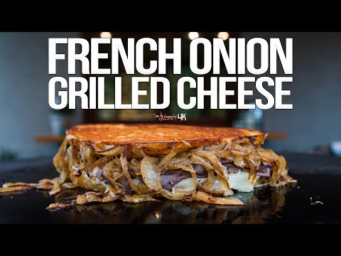 🤤😋 French Onion With Roast Beef Grilled Cheese Sandwich