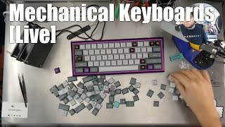 [Livestream] Mechanical Keyboards Live! - JB builds the Fjell with GON NerD 60 & Carbon Fiber plate