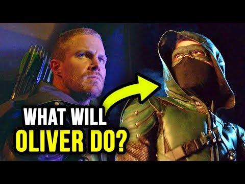 *SPOILER* is the COPYCAT ARROW! WHAT?! - Arrow Season 7 Episode 8 Review 'Unmasked'