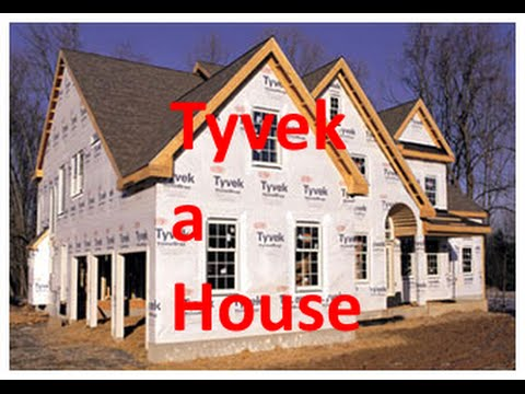 How to Install Tyvek over existing Windows?