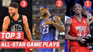 Top 3 Plays From Every All-Star Game! (2010-2020)