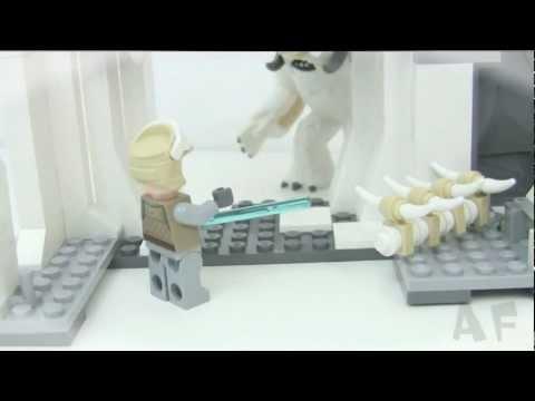 Vidéo LEGO Star Wars 8089 : La grotte Wampa de Hoth