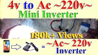 Download Video How to make Mini Inverter ~AC~ 220v MP3 3GP MP4