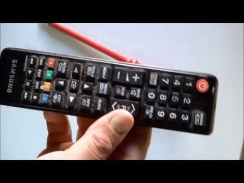 come smontare e pulire un telecomando tv samsung