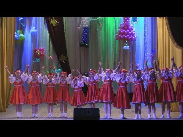 Младшая группа детского танцевального коллектива «Серединочка» Серединский ЦСДК