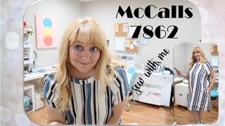 McCalls 7862 ~Sew With Me~ Linen Dress