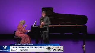 Claude Delangle et Odile Delangle plays Legende by F. SCHMITT