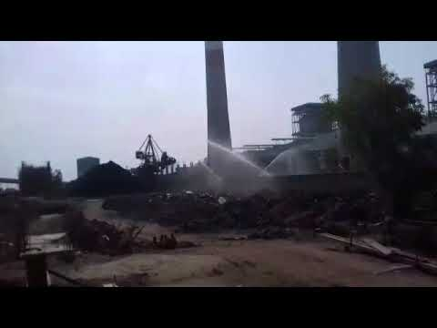 Stockpile Dust Suppression Systems