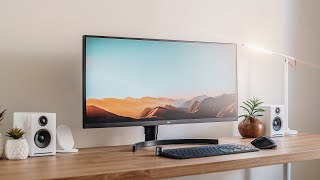 LG Ultra Wide Monitor Review! (34WN750)