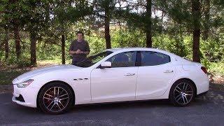 Вот почему Maserati Ghibli это ужасный способ потратить $85 000