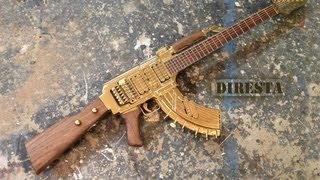 ✔ DiResta AK47 Guitar AKA The GATTAR