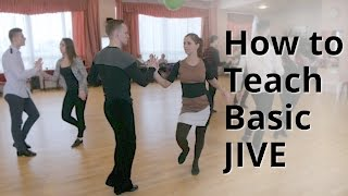 Workshop - How to do Basic Jive for Beginners | Latin Dance
