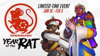 Overwatch Seasonal Event | Lunar New Year 2020