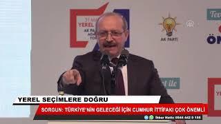Ahmet Sorgun, AK Parti Kayseri adaylarını tanıttı