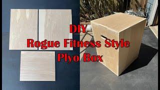 DIY Rogue Fitness Style Plyo Box Build - Garage Gym Build Part 2