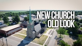 New Church, Old Look | St. Kateri in Ridgway, IL