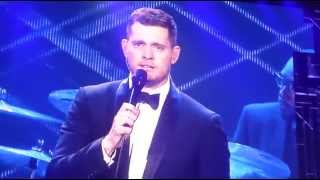 Close Your Eyes - Michael Buble - ACC - Toronto, Ontario - June 28, 2014-To Be Loved Tour!