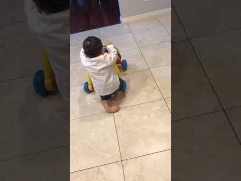 My 8 month starting to walk