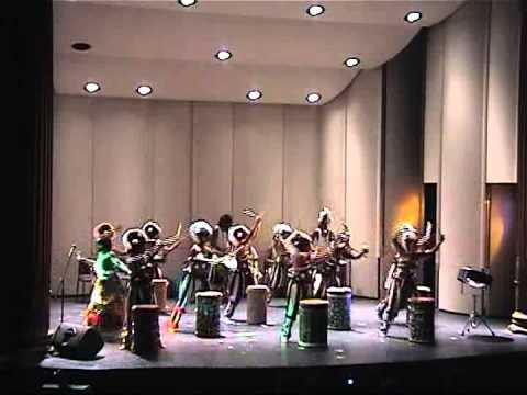 Balafon West African Dance Ensemble performs at Carnegie Mellon