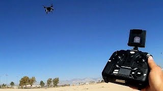 Bayangtoys X21 with GPS Controller Flight Test Review