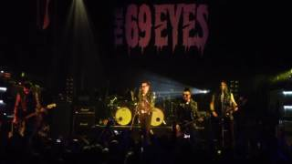 The 69 Eyes - Don't Turn Your Back on Fear (live Minsk 11.10.2016)