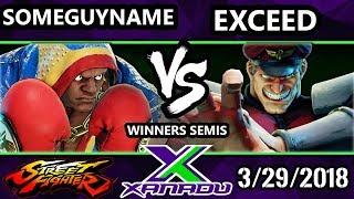 F@X 243 SFV - someguyname (Balrog) vs. Exceed (Bison) - Street Fighter 5 Winners Semis