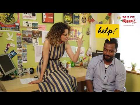 Kangana Ranaut chooses between sex & sleep | Selfie 21 with RJ Suren | Rangoon | Radio Mirchi