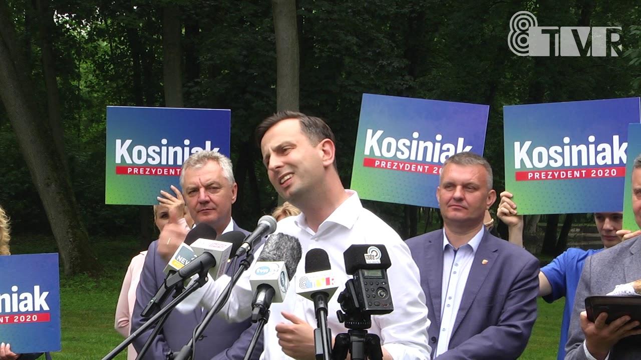 Władysław Kosiniak-Kamysz odwiedził Gminę Błaszki