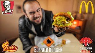 أحسن تشكن برجر في مصر الجزء الأول ( Chicken Burger )