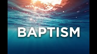 For Encouragement: Sharing BAPTISM MOMENT! BEING REBORN/NEWNESS Of LIFE! GLORY TO YAHWEH! HALLELUJAH