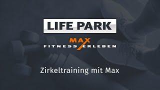 Zirkeltraining mit Max (Livemitschnitt vom 10. April 2020)